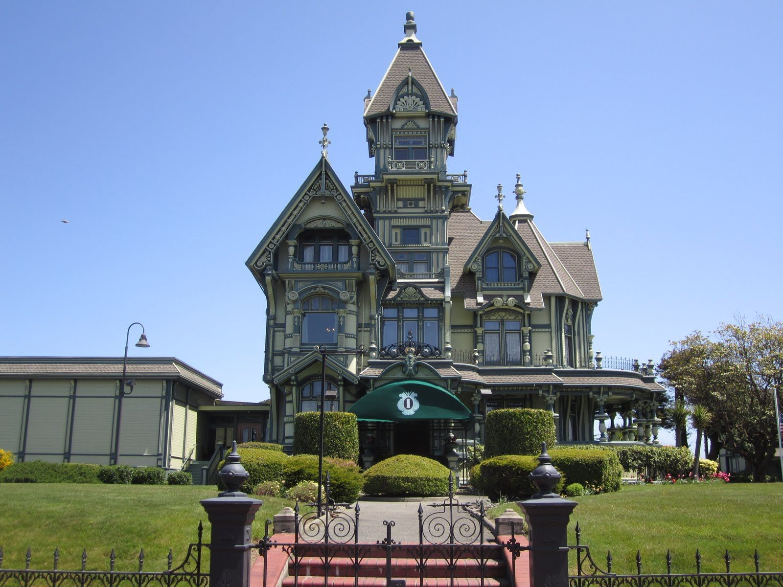 Eureka ca and victorian houses victorian homes carson