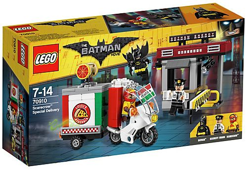 LEGO Scarecrow Pizza Delivery Minifigure The Lego Batman Movie 70910 New