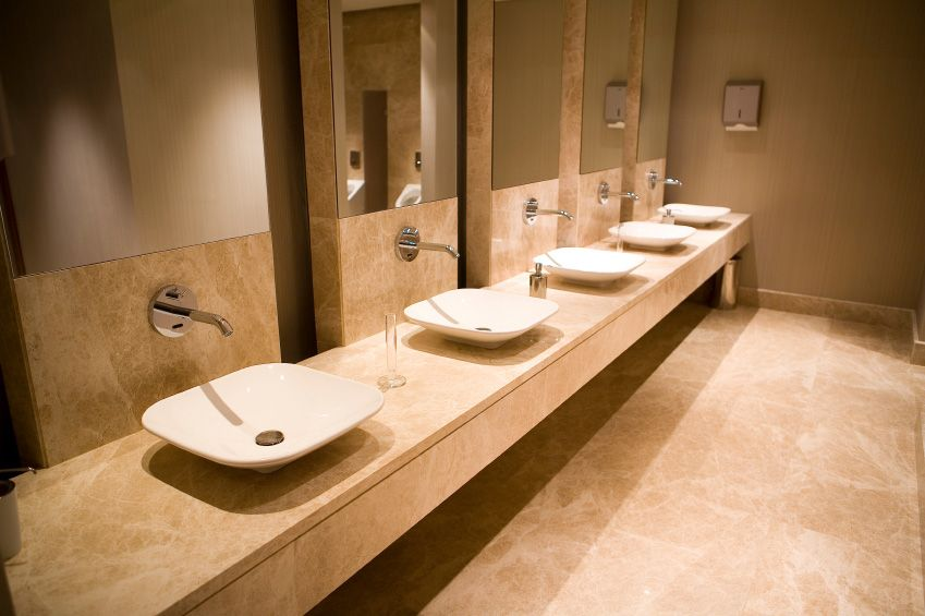 Commercial bathroom design ideas of worthy commercial for Washroom bathroom designs