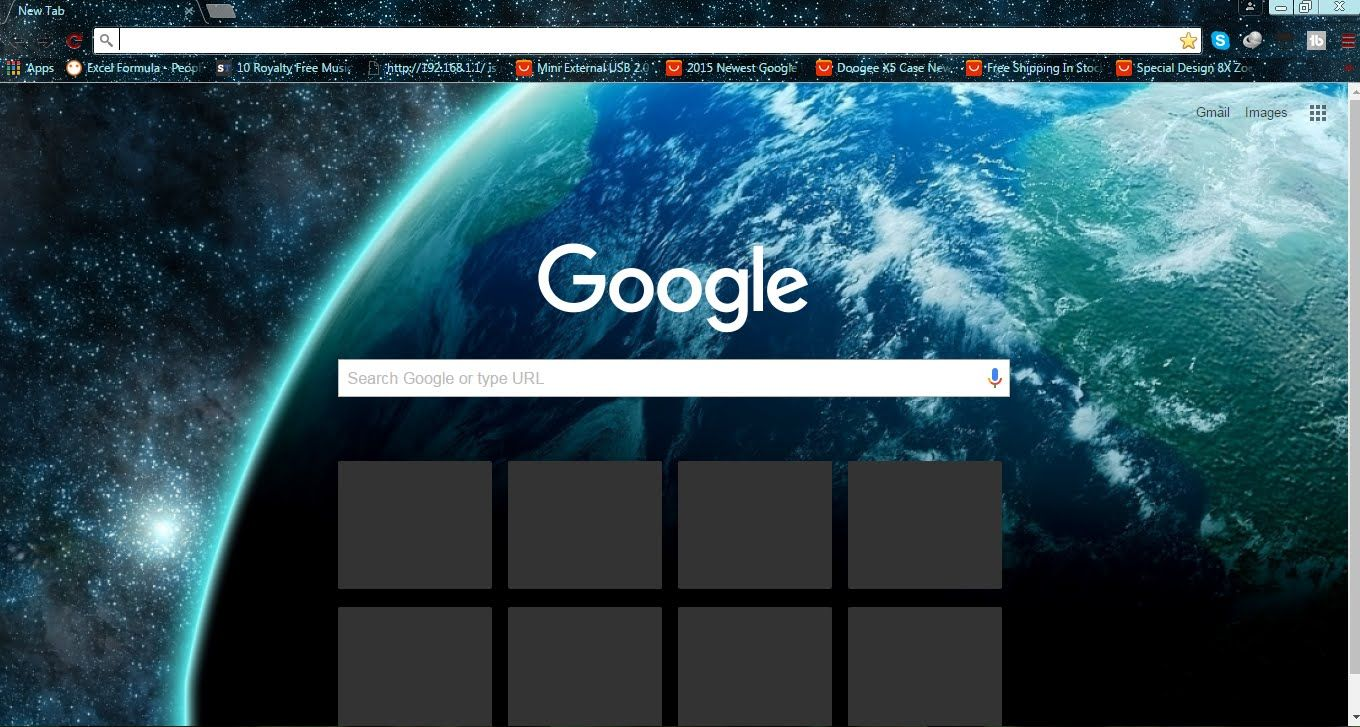 How to change google chrome themes change background