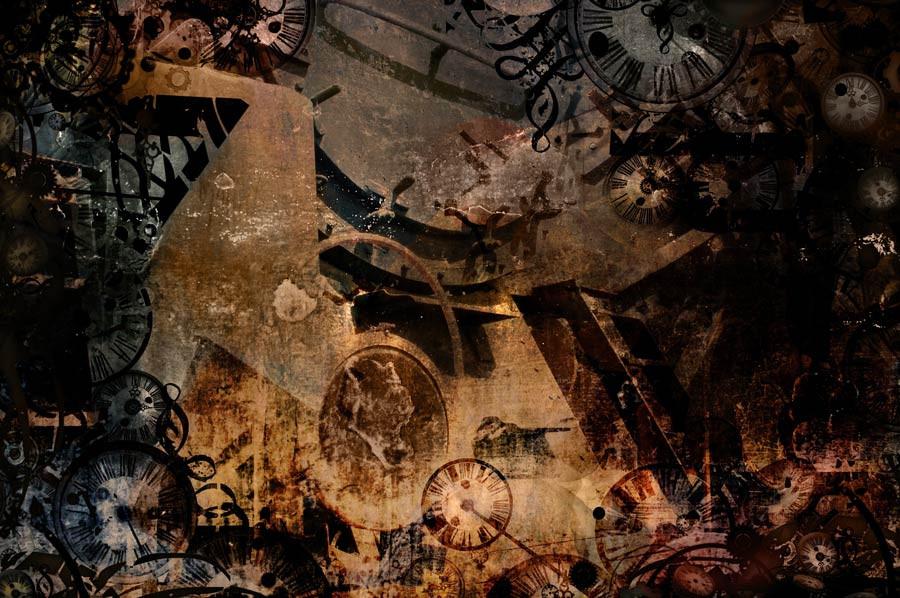 Vintage Steampunk Time Machine Mural Wallpaper Steampunk Background Steampunk Murals Your Way