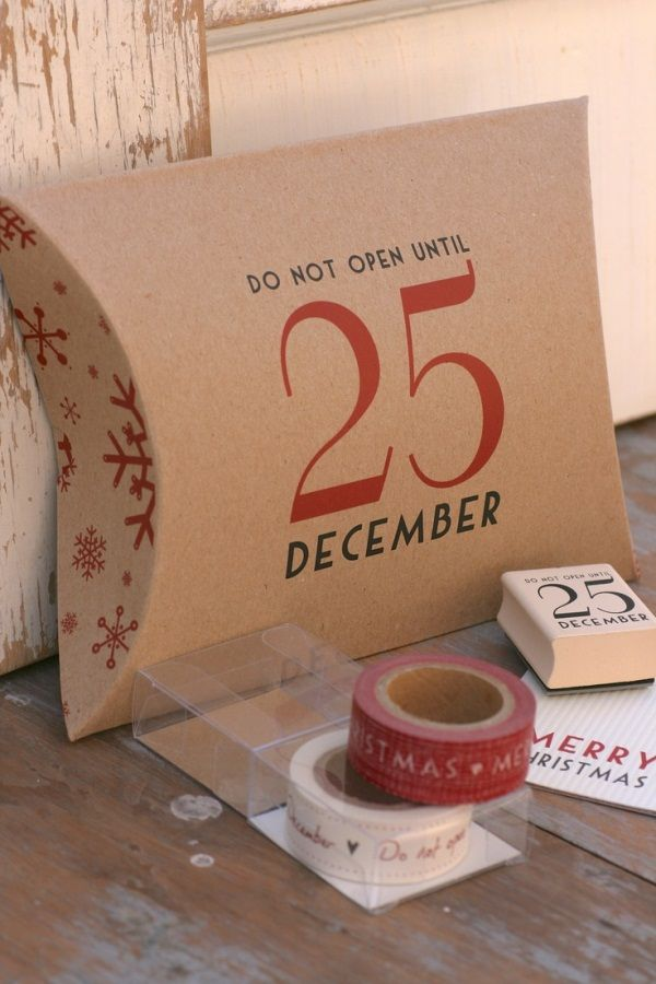 15 Superb Christmas Present Wrapping Concepts DIY HOME Pinterest