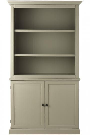Martha Stewart Living™ Ingrid Bookcase with Doors - Bookcase ...