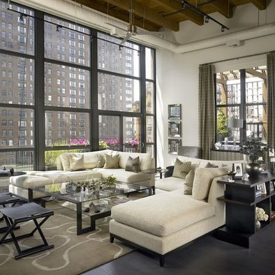 Private Loft Residence Living Room, Loft Furniture And Other Ideas