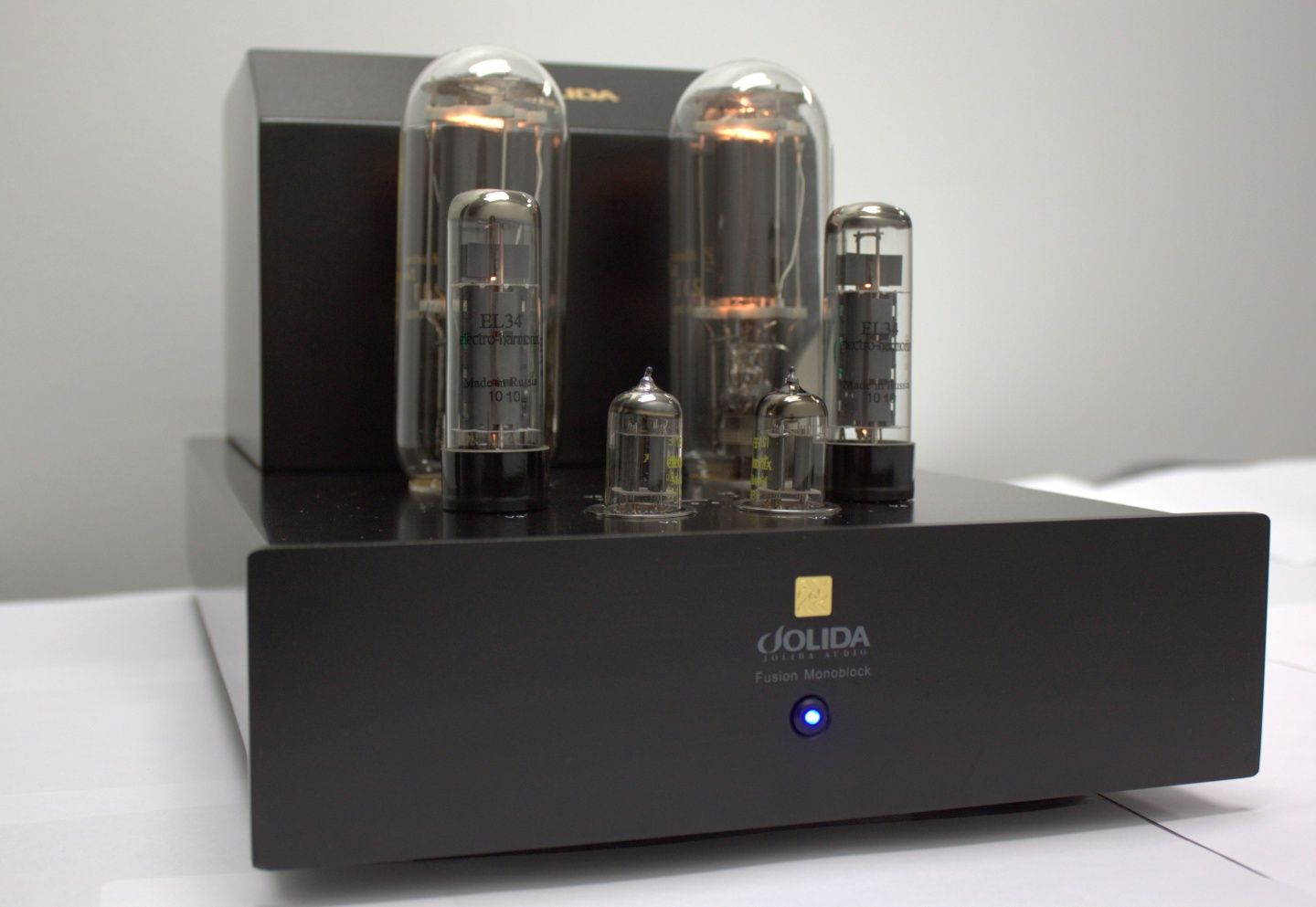 jolida, fusion monoblock tube power amplifier | tube audio