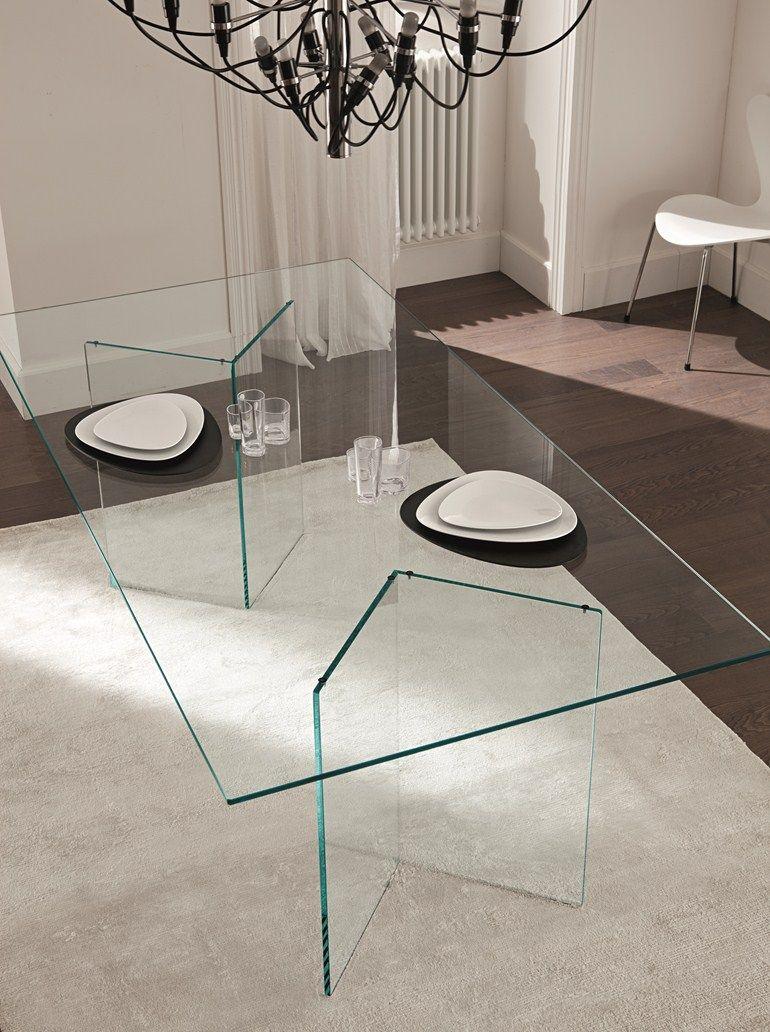 Glass Table Bacco By T D Tonelli Design Design M U Glass