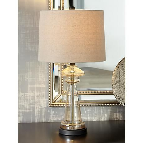 Dalia Champagne Glass Table Lamp 8h818 Lamps Plus