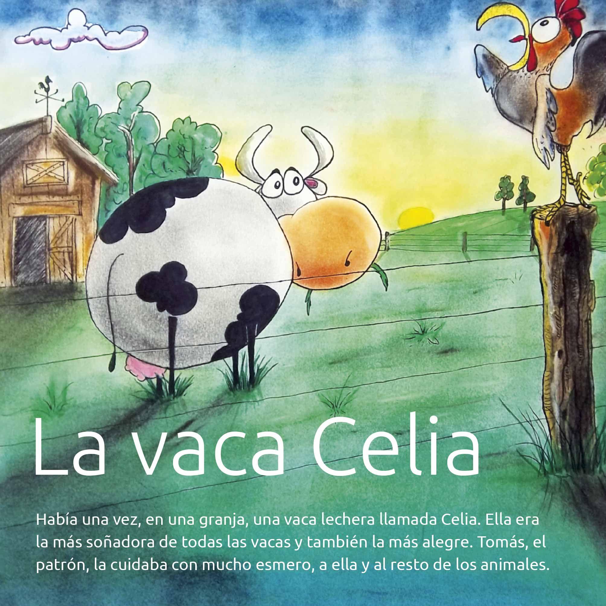 La vaca celia protagonista de uno de los cuentos de - Como cocinar las setas lengua de vaca ...