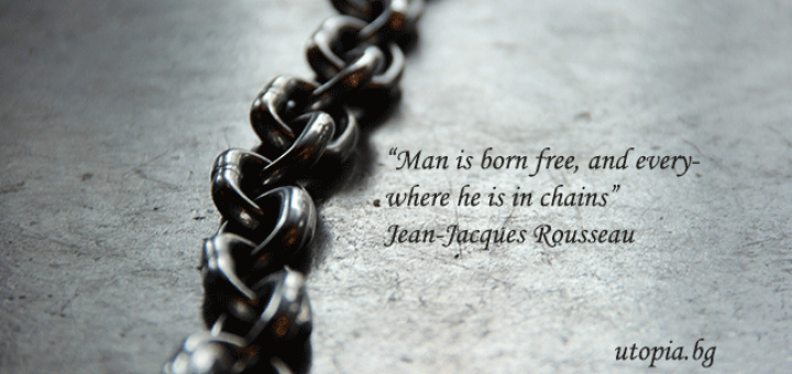 man is born free but everywhere he is in chain who said this