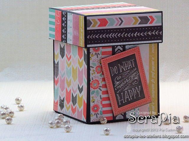 Scrapia: Photo Explosion Box Revisited # 1 -  Cube explosiv...