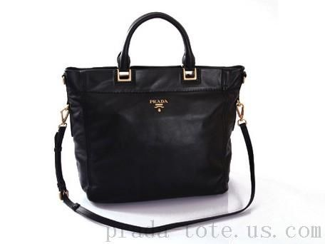48b46789d146 Fashion  Prada BN2082 Handbags in Black Outlet store