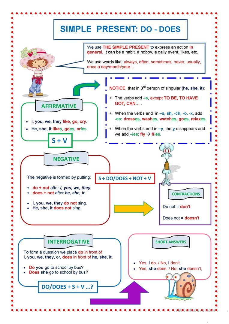 do and does worksheets for grade 2 pdf