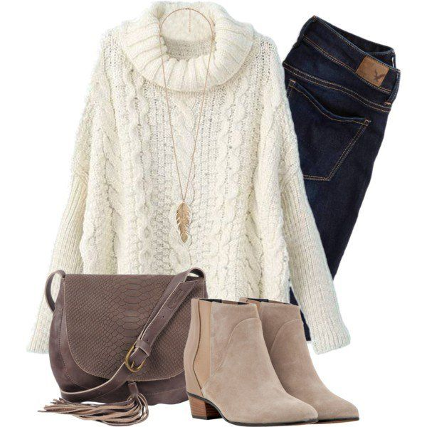 how to wear sweater dress with jeans 6