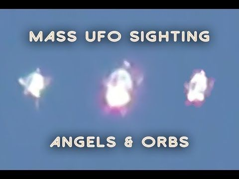 Photo of MASS UFO SIGHTING: Morphing ANGEL ORB UFO, Los Angeles 2014