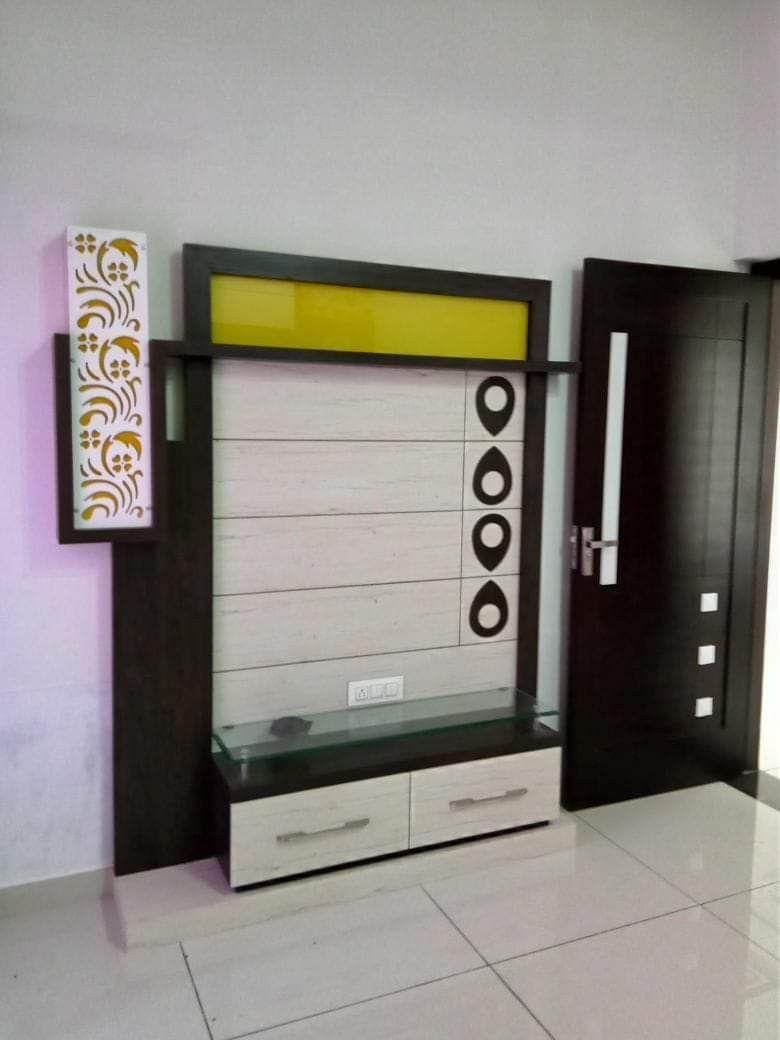 Lcd Unit Design Modern Tv: Pin By Manjunath On T V Unit