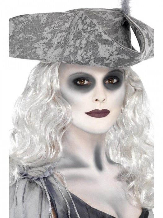 Ghost Make Up Kit at Halloween Fancy Dress and Party Halloween - halloween ghost costume ideas