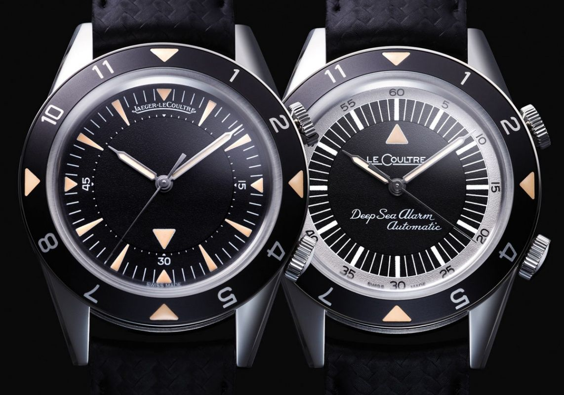 Jaeger LeCoultre Memovox Tribute, Deep Sea with Alarm