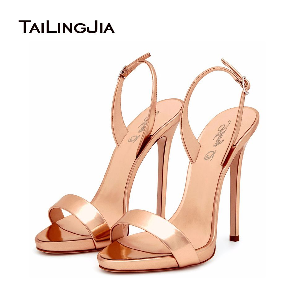 Black High Heels Sandals Women Brands Style Ladies Sandals Elegant ...