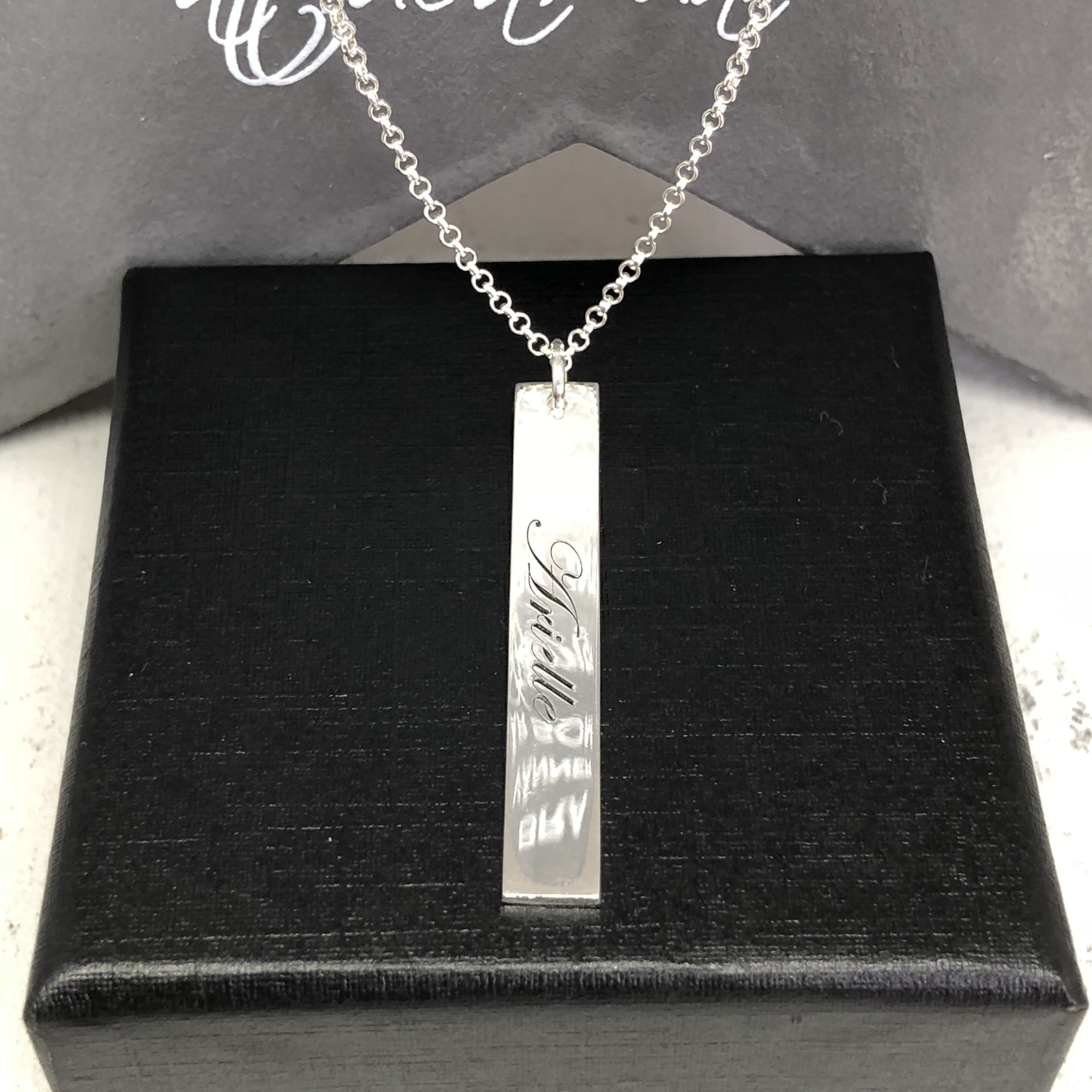 namnhalsband i 925 silver.  1851bfb63e01c