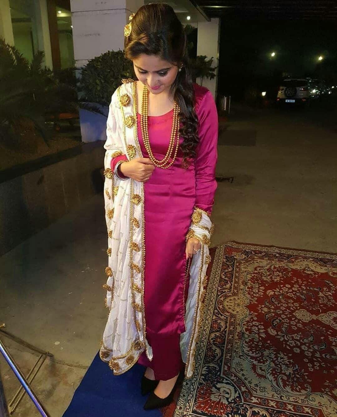 M Preet Patiala Suit Designs Punjabi Outfits Indian Designer