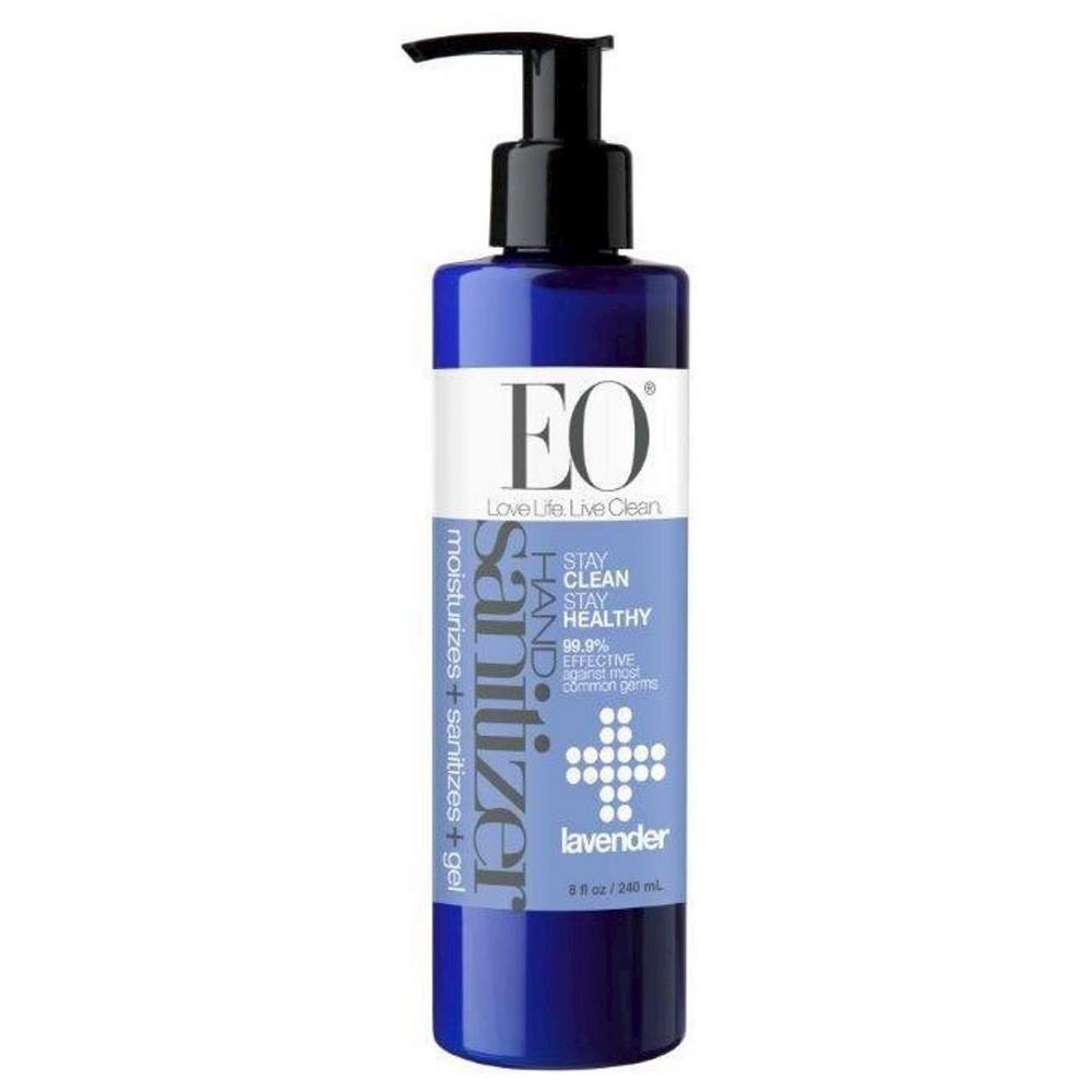 Eo Sanitizing Hand Wipes Organic Lavender Biodegradable 24