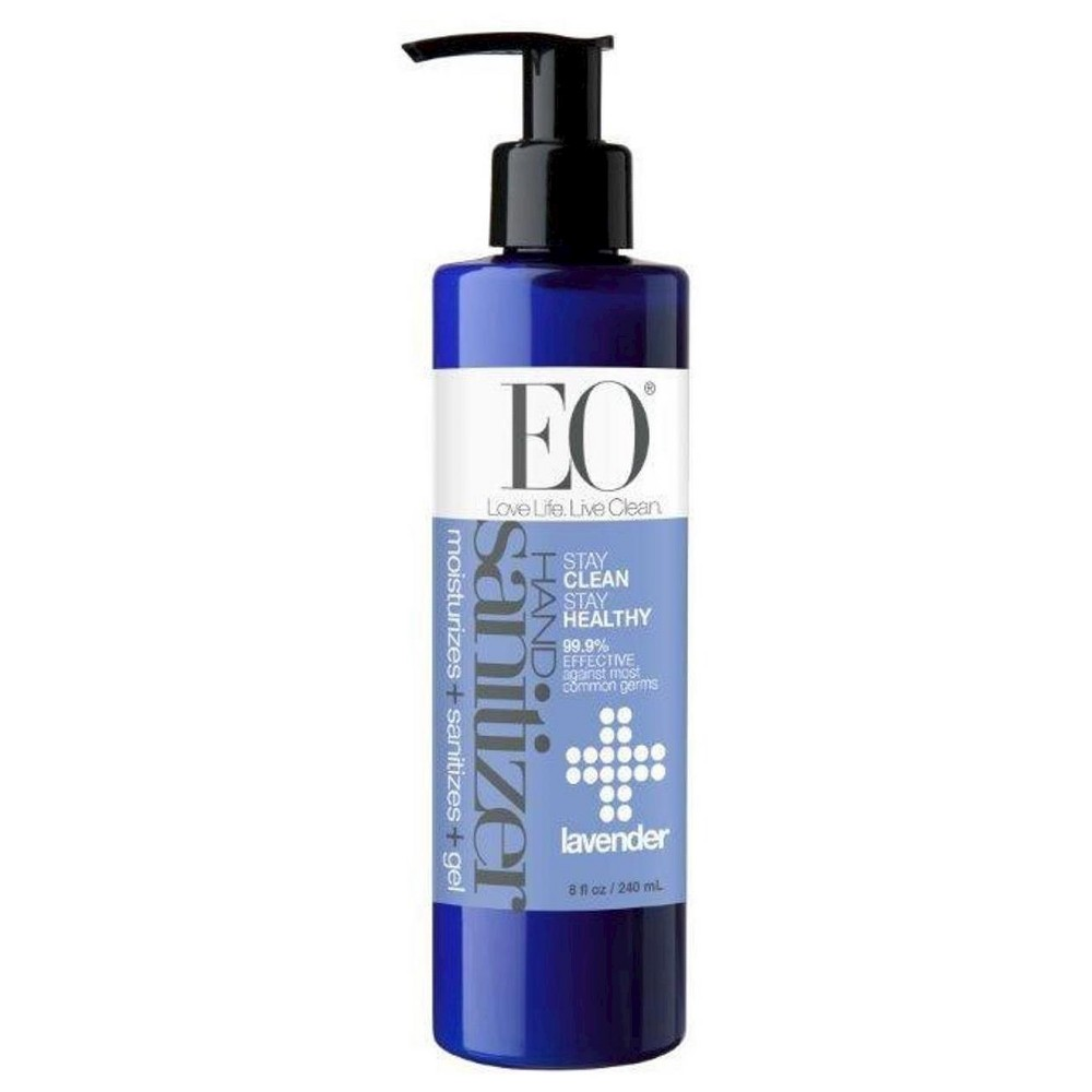 Eo Lavender Hand Sanitizer Gel 8 0 Fl Oz Eos Products Hand