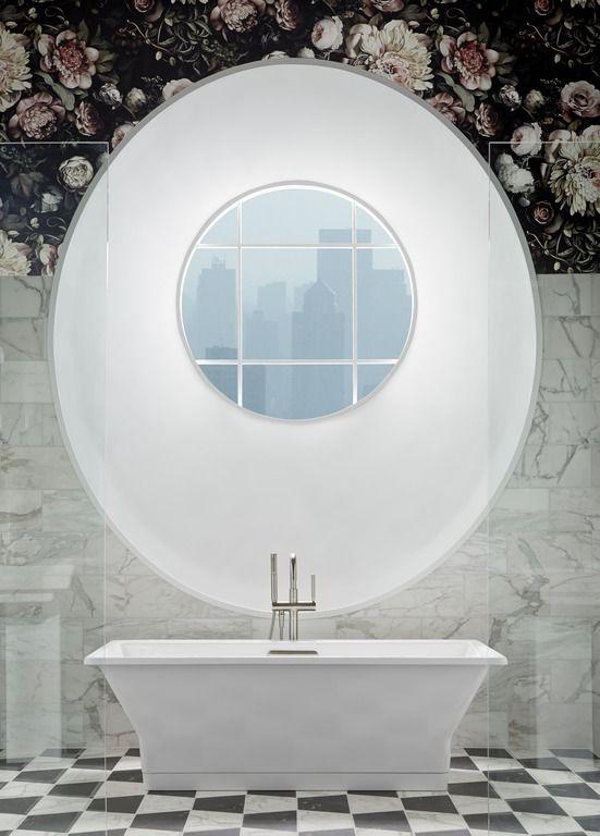 Dark Floral Bathroom Floral Bathroom Bathroom Wallpaper