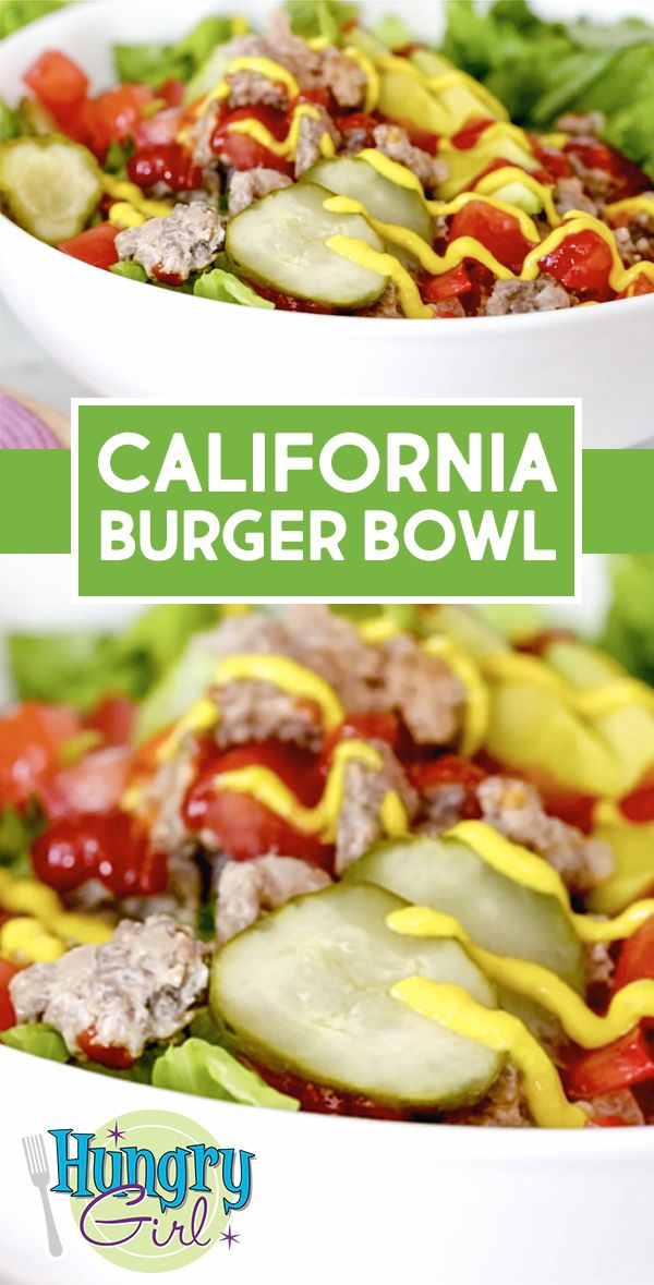 California Burger Bowl images