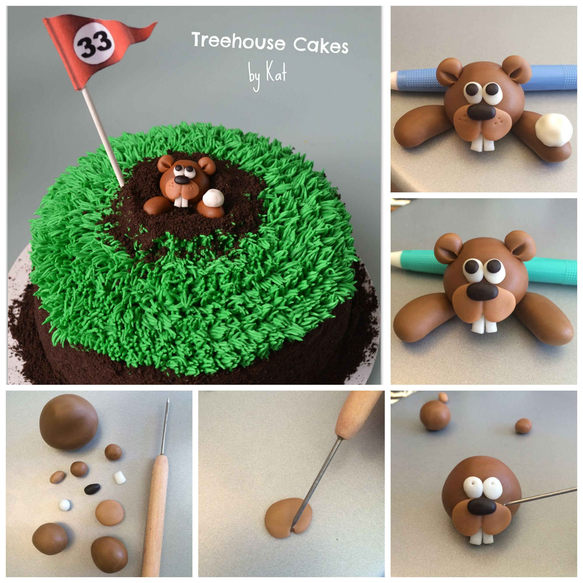 This tutorial was created by Kat Keeling of Treehouse Cakes - located in Dallas, Texas www.treehousecakes.com