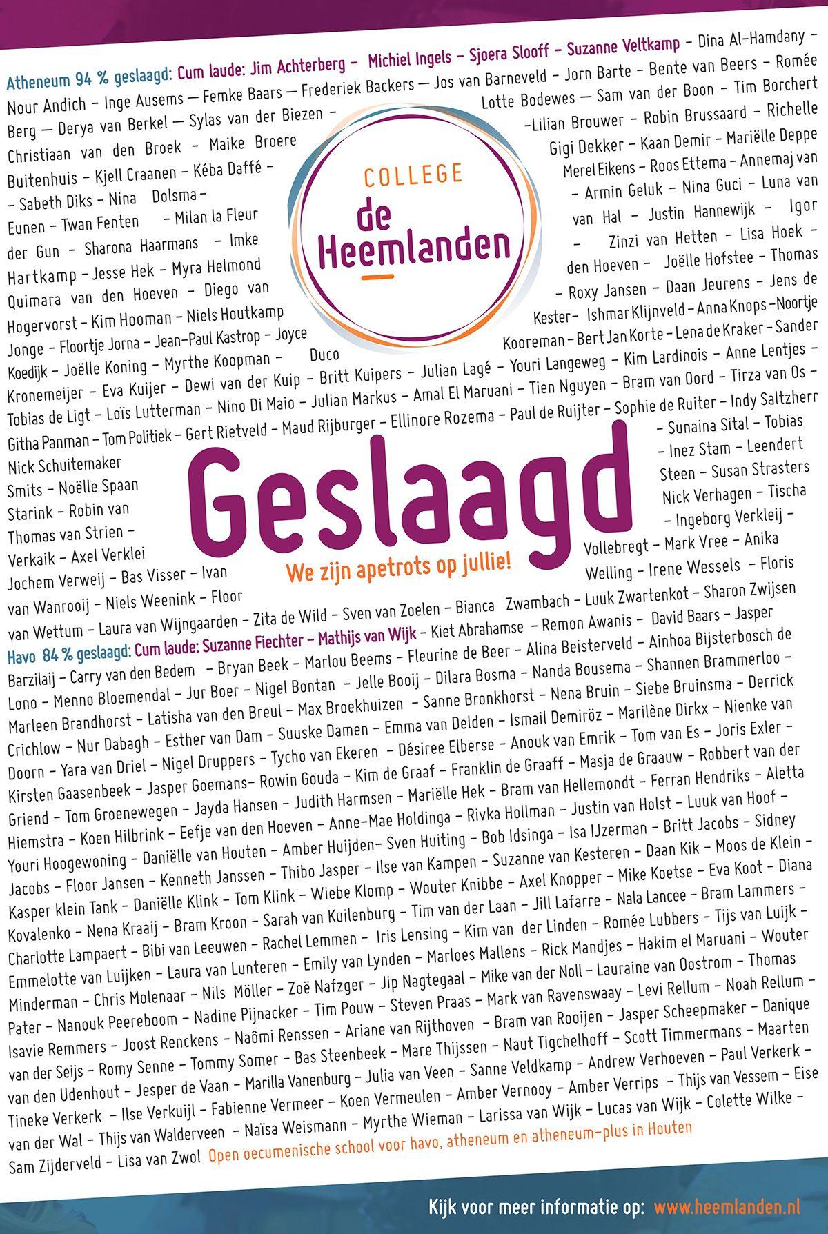 Diploma-uitreiking | Heemlanden | Timmermans-Vaneerdewegh Genealogie ...
