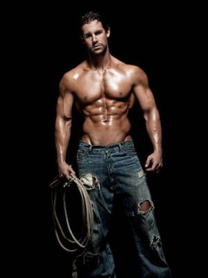 Cowboy male strippers