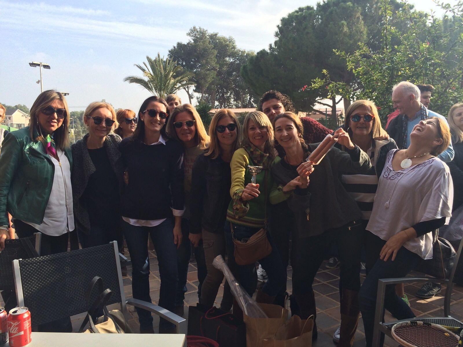 Estuvimos con #LaCuina y #Picken patrocinando la fiesta de Navidad del #ClubDeTenisValencia. ¡Qué divertido!