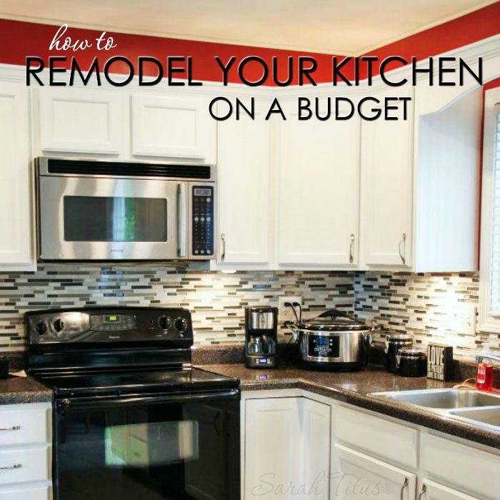 Ideas For Redoing Kitchen Cupboards: How To Remodel Your Kitchen On A Budget