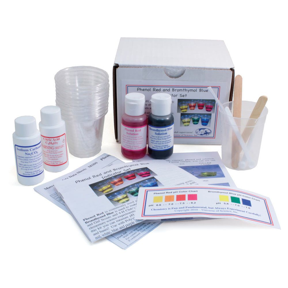 pH Indicator Set (With images) Elementary science