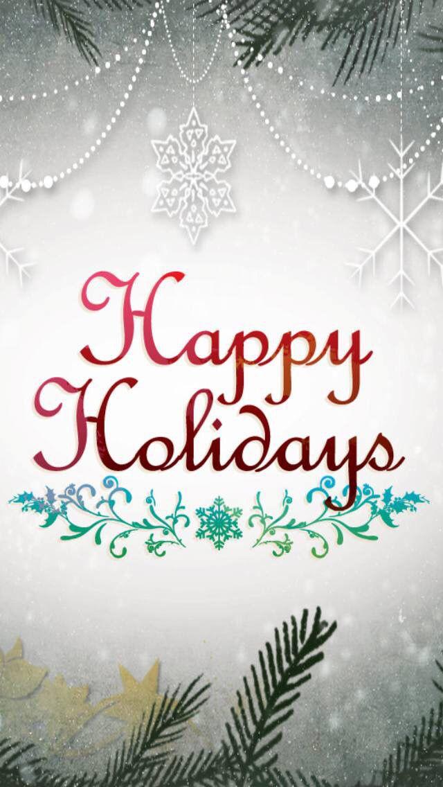 Iphone Wall Happy Holidays Tjn Holiday Wallpaper Holiday Iphone Wallpaper Wallpaper Iphone Christmas