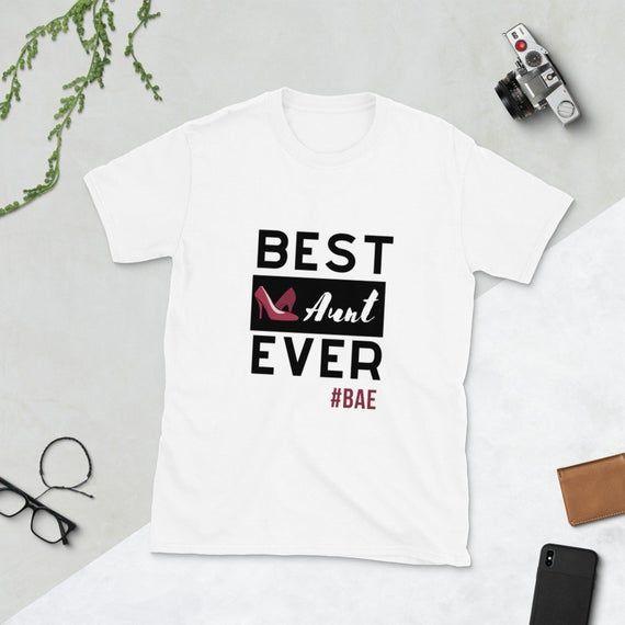 Best Aunt Ever tee / Aunt Tshirt /Best Aunt shirt /Favorite Aunt t shirt/ Gift for Aunt / BAE shirt