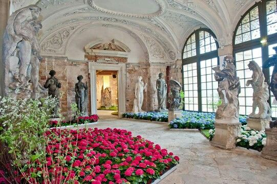 Dresdner Frühling im Palais.