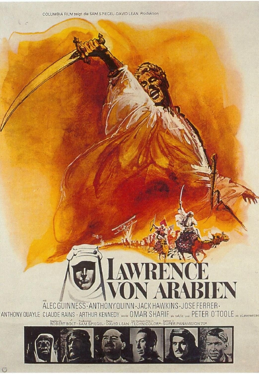 Lawrence Of Arabia French One Sheet Mine Is A Giglee Reprint Peliculas Completas Subtitulos Cine