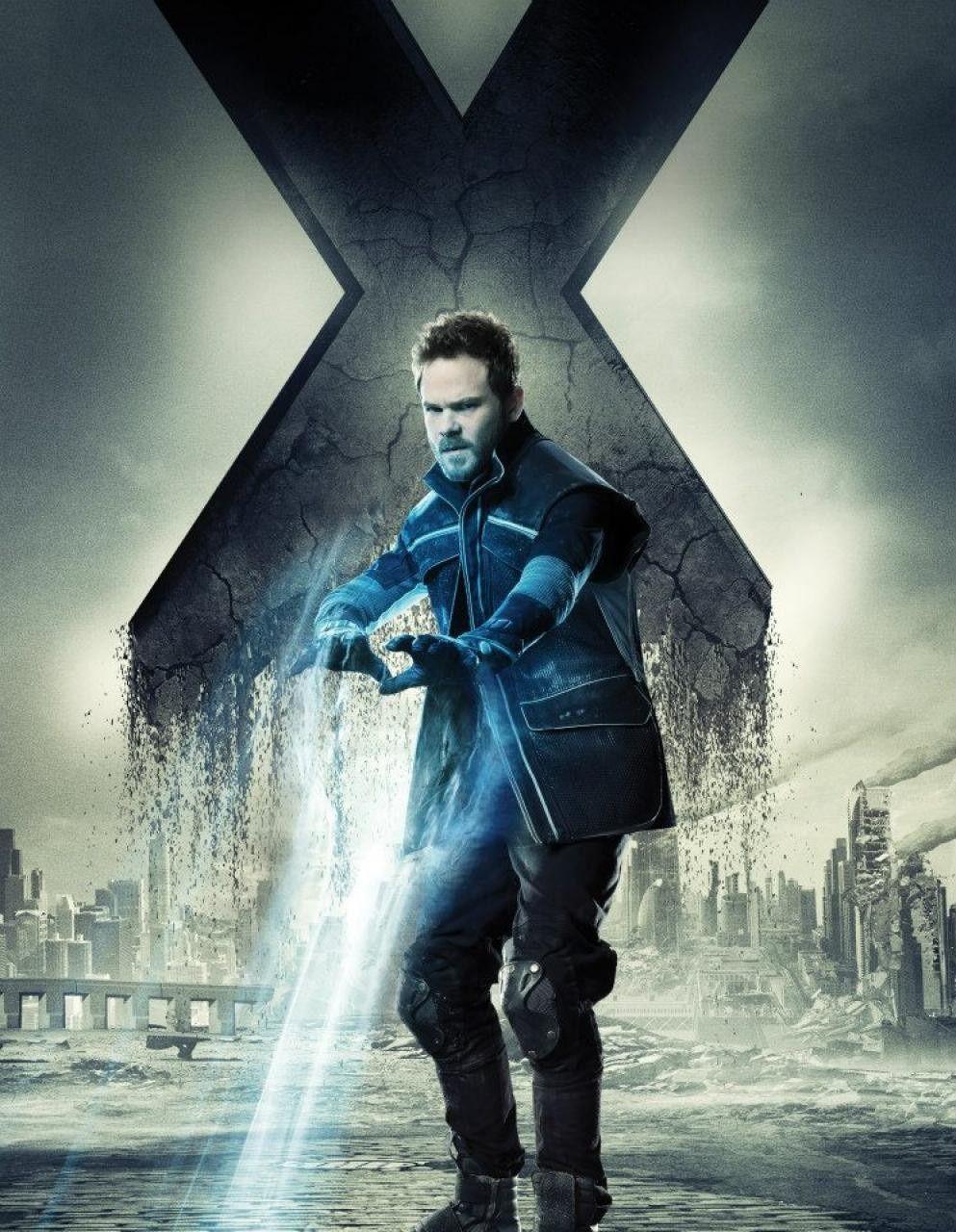 X-Men: Días del futuro pasado Iceman (Shawn Ashmore) Poderes: Visión térmica. Congela el ambiente y es capaz de convertir su cuerpo en hielo. Foto: Especial.