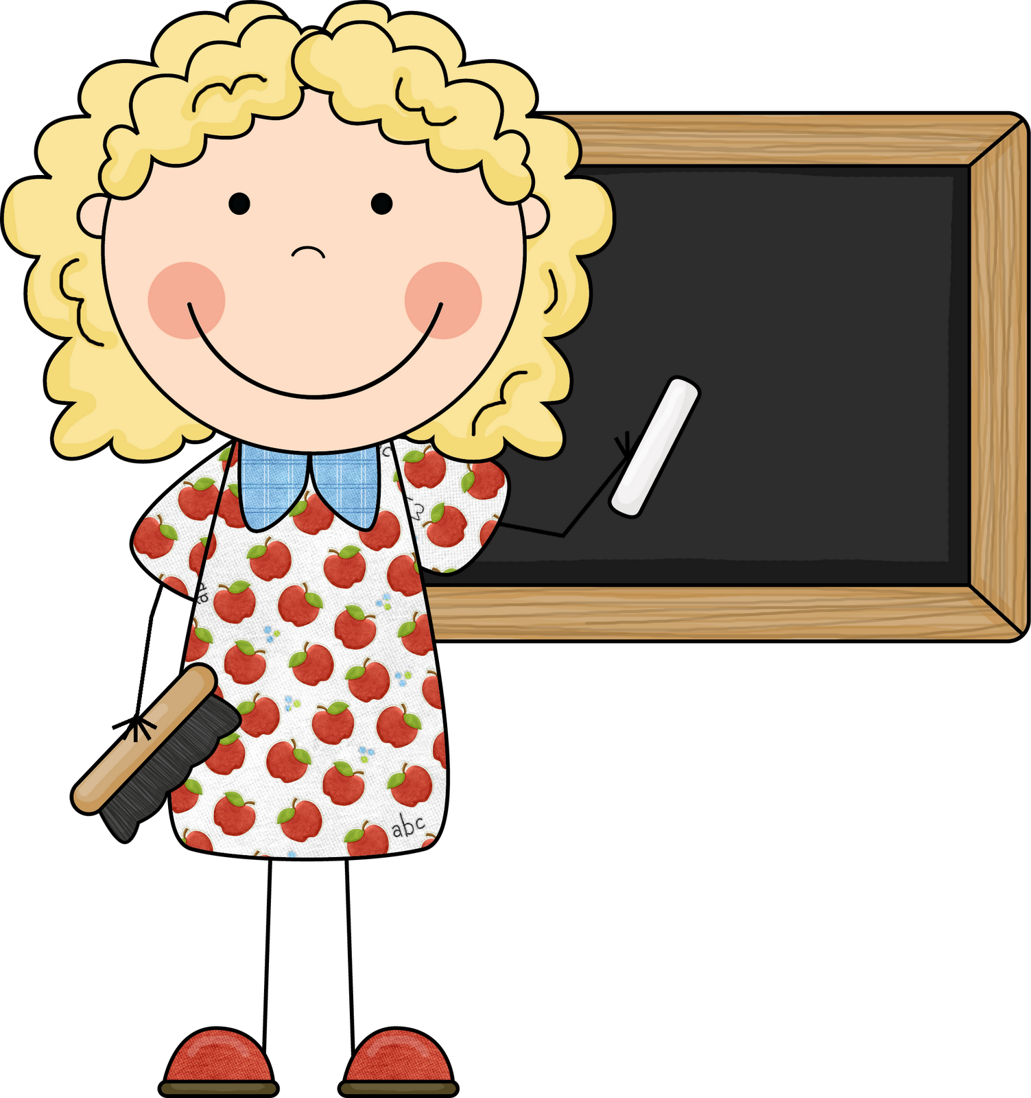 Kinder Cliparts Kindergarten Teacher Clip Art Classroom Decoration Teacher
