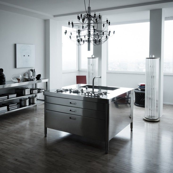 Alpes Inox race-car-style appliances for compact kitchens | future home ideas