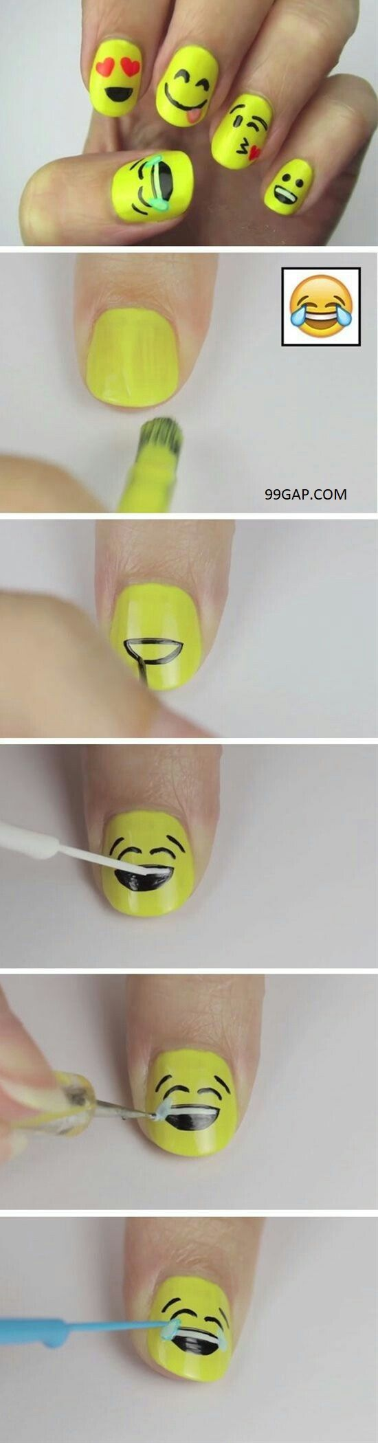 Pictures Of Nails vs. Emoji