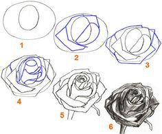 How to draw a simple rose step by step with pencil lqmetokt art how to draw a simple rose step by step with pencil lqmetokt ccuart Choice Image