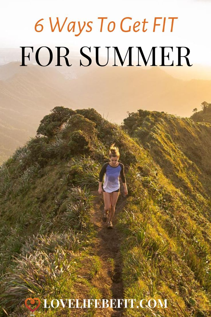 Summer is just so much more enjoyable if you're fit. Opportunities for adventure abound but they all...