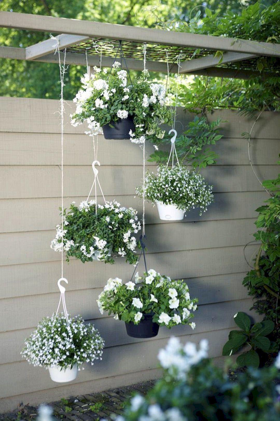 Genius Vertical Gardening Ideas For Small Gardens Hanging Garden
