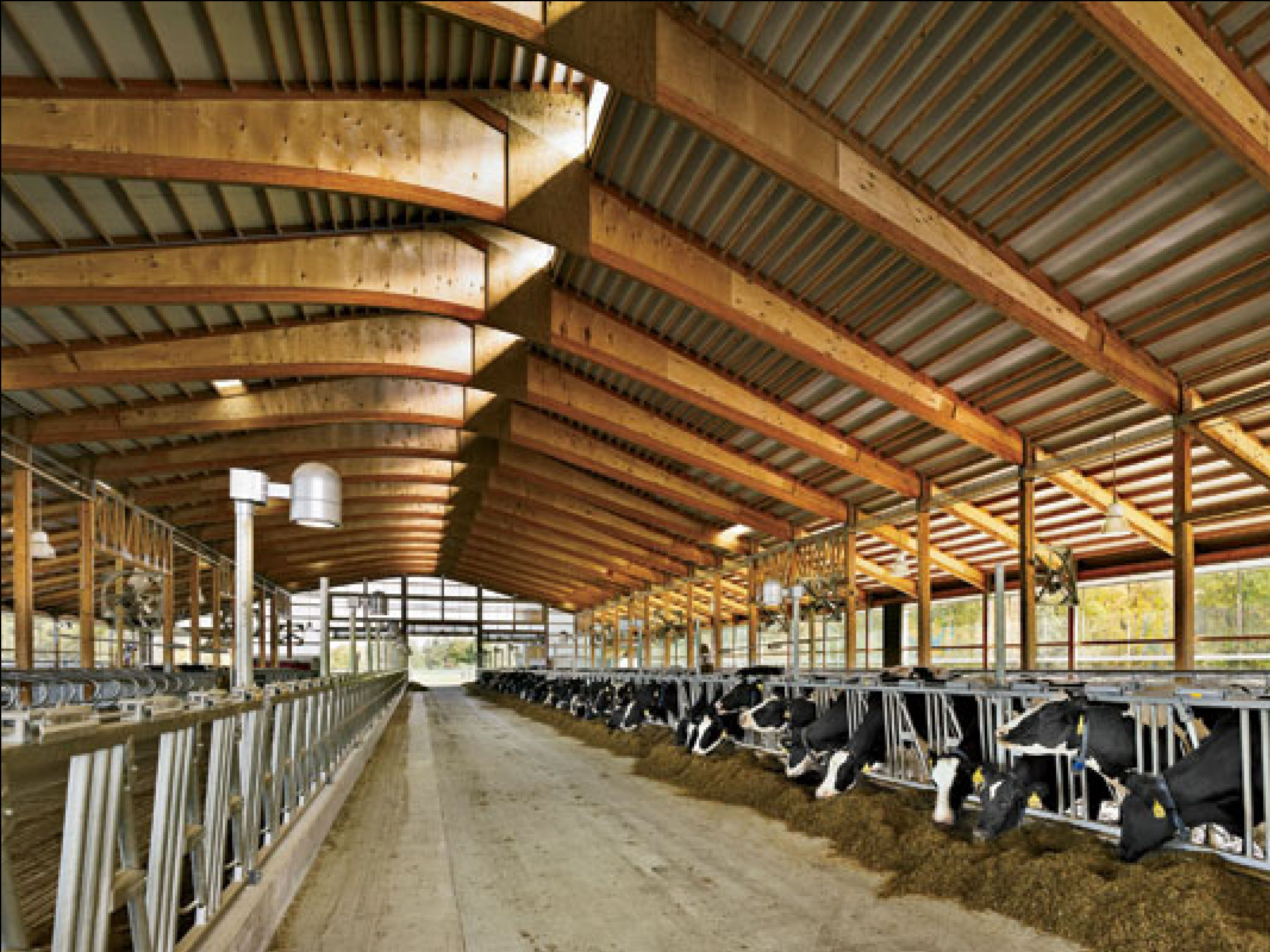 Teaching dairy barn designed by erdy mchenry architects at cornell university ithaca new york