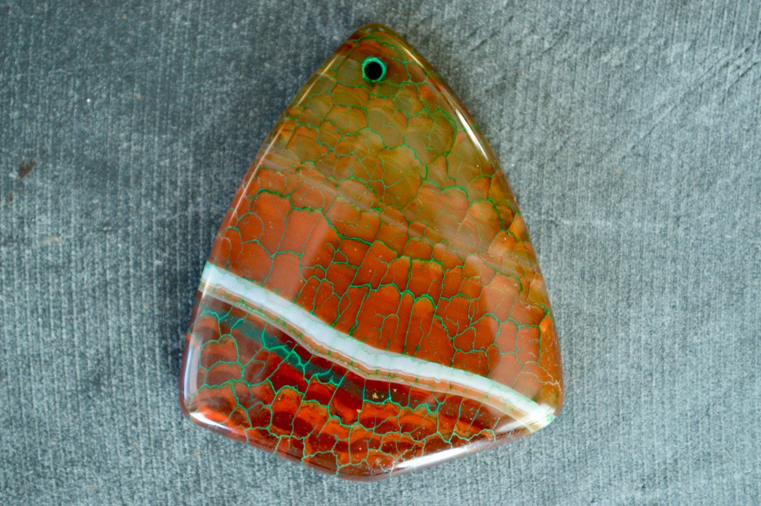 45mm dragon veins agate shield shape stone pendant stone pendant 45mm dragon veins agate shield shape stone pendant stone pendant 45x36x6mm natural stone brown green stone pendant aloadofball Image collections