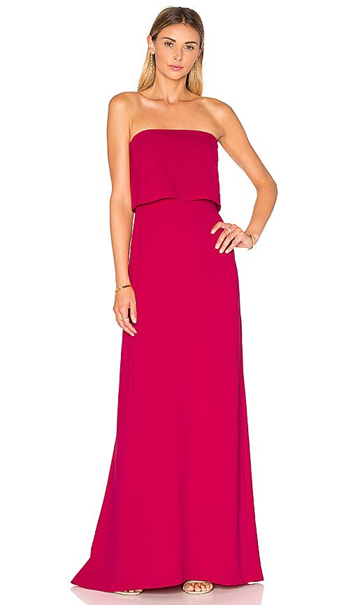 Red Dresses | Halston heritage, Gowns and Formal wear