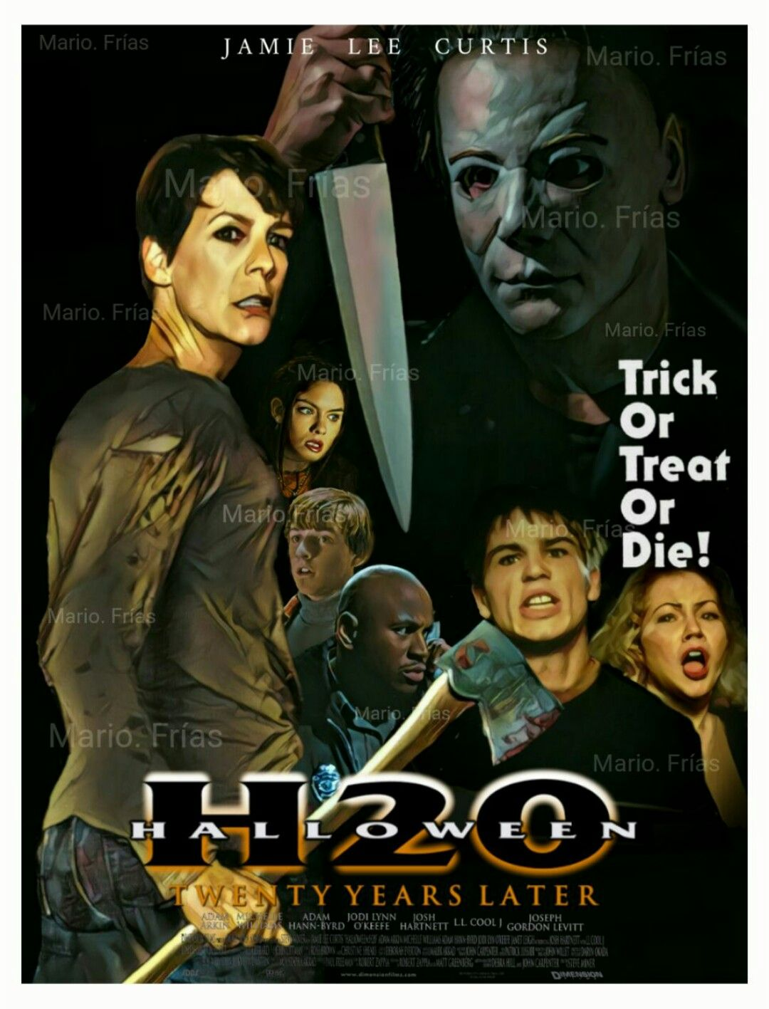 Halloween H20 Full Picture Online Free | Halloween H20 Horror Movie Slasher Edit By Mario Frias Horror Fan