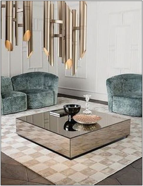 Centre Table Designs For Living Room: 25 Glass Centre Table For Living Room #glasscentretable